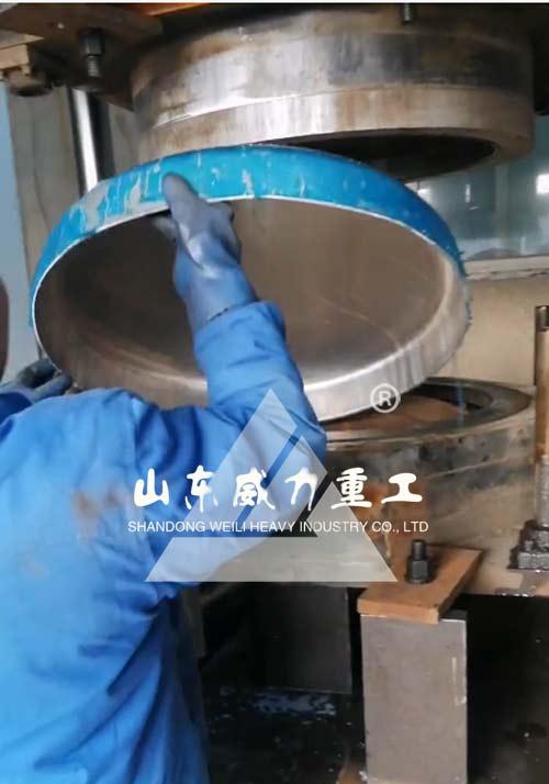 铝合金燃油箱封头拉伸成型